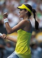 Ana Ivanovic..Tennis - Australian Open - Grand Slam -  Melbourne Park  2013 -  Melbourne - Australia - Friday 18th January  2013. .© AMN Images, 30, Cleveland Street, London, W1T 4JD.Tel - +44 20 7907 6387.mfrey@advantagemedianet.com.www.amnimages.photoshelter.com.www.advantagemedianet.com.www.tennishead.net