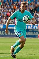 FC Barcelona's Gerard Deulofeu during La Liga match. August 26,2017.  *** Local Caption *** © pixathlon<br /> Contact: +49-40-22 63 02 60 , info@pixathlon.de
