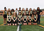 3-29-17, Huron High School girl's junior varsity lacrosse team