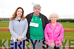 Suzanne Sullivan, Owen McSweeney, Norin Ui Chathasaigh at the Home to Rome 5k Fun Run at Castleisland Rugby club on Sunday