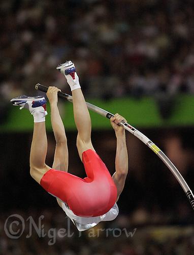 24 MAR 2006 - MELBOURNE, AUSTRALIA - Steven Lewis (ENG) - Pole vault - Commonwealth Games '06. (PHOTO (C) NIGEL FARROW)