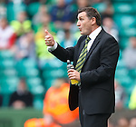 Tony Mowbray restrained in his celebrations as Celtic score