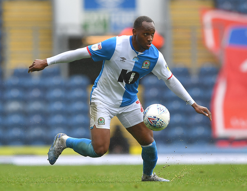 Blackburn Rovers' Ryan Nyambe<br /> <br /> Photographer Dave Howarth/CameraSport<br /> <br /> The EFL Sky Bet Championship - Blackburn Rovers v Reading - Saturday 18th July 2020 - Ewood Park - Blackburn<br /> <br /> World Copyright © 2020 CameraSport. All rights reserved. 43 Linden Ave. Countesthorpe. Leicester. England. LE8 5PG - Tel: +44 (0) 116 277 4147 - admin@camerasport.com - www.camerasport.com