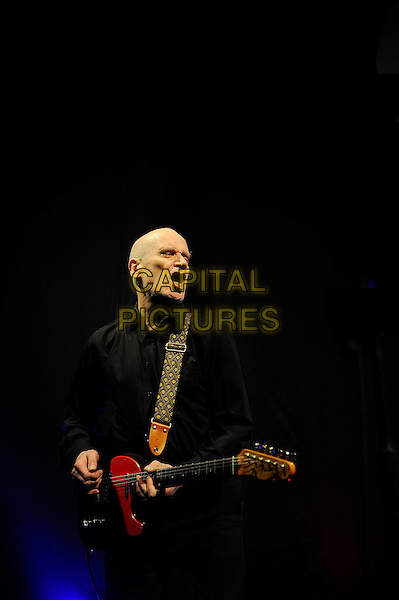 LONDON, ENGLAND - March 28: Wilko Johnson of Wilko Johnson Band performs in concert at the Eventim Apollo on March 28, 2014 in London, England<br /> CAP/MAR<br /> &copy; Martin Harris/Capital Pictures