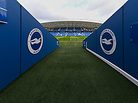The Amex Stadium - Ground shot<br /> <br /> Photographer David Horton/CameraSport<br /> <br /> The Premier League - Brighton and Hove Albion v Burnley - Saturday 9th February 2019 - The Amex Stadium - Brighton<br /> <br /> World Copyright &copy; 2019 CameraSport. All rights reserved. 43 Linden Ave. Countesthorpe. Leicester. England. LE8 5PG - Tel: +44 (0) 116 277 4147 - admin@camerasport.com - www.camerasport.com