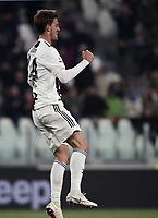 Calcio, Serie A: Juventus - Chievo Verona, Turin, Allianz Stadium, January 21, 2019.<br /> Juventus' Daniele Rugani celebrates after scoring during the Italian Serie A football match between Juventus and Chievo Verona at Torino's Allianz stadium, January 21, 2019.<br /> UPDATE IMAGES PRESS/Isabella Bonotto