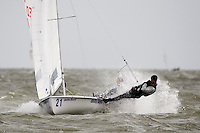 Medemblik - the Netherlands, May 27th 2009. Delta Lloyd Regatta in Medemblik (27/31 May 2009). Day 1.