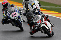 11.11.2012 SPAIN GP Generali de la Comunitat Valenciana Moto 3  Race. The picture show  Alan Techer (French rider Technomag-Cip HONDA)
