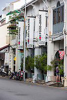 George Town, Penang, Malaysia.  China House Restaurant.