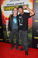 LOS ANGELES, CA. September 19, 2018: Jackson Browne &amp; Tom Morello at the Los Angeles premiere for Michael Moore's &quot;Fahrenheit 11/9&quot; at the Samuel Goldwyn Theatre.<br /> Picture: Paul Smith/Featureflash