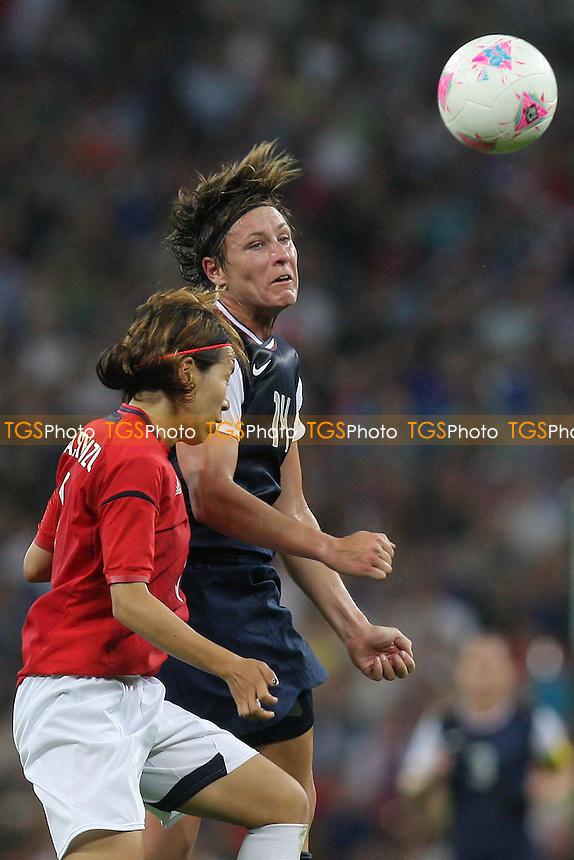 Abby WAMBACH of USA - USA Women vs Japan Women - Womens Olympic Football Tournament London 2012 Final at Wembley Stadium - 09/08/12 - MANDATORY CREDIT: Gavin Ellis/SHEKICKS/TGSPHOTO - Self billing applies where appropriate - 0845 094 6026 - contact@tgsphoto.co.uk - NO UNPAID USE.