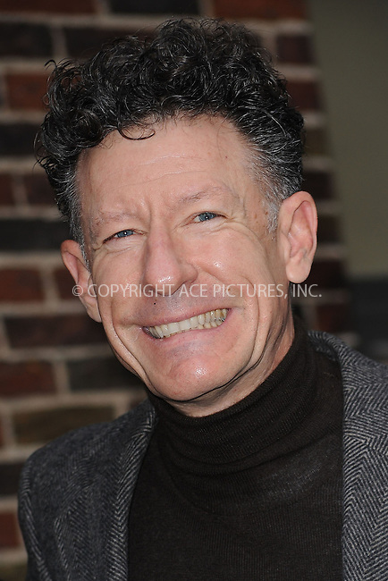 WWW.ACEPIXS.COM . . . . . ....Novemeber 16 2009, New York City....Musician Lyle Lovett made an appearance at 'The Late Show with David Letterman' on November 16 2009 in New York city....Please byline: KRISTIN CALLAHAN - ACEPIXS.COM.. . . . . . ..Ace Pictures, Inc:  ..tel: (212) 243 8787 or (646) 769 0430..e-mail: info@acepixs.com..web: http://www.acepixs.com