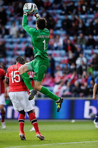 02.06.2012 Oslo, Norway Rune Almenning Jarstein of Norway in action during the  international friendly match  between Norway vs Croatia at the Ullevaal Stadion in Oslo, Norway