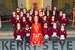 The pupils of Mr Liam Moloney's confirmation class of  Holy Family school  were Confirmed by Bishop Ray Browne at St Brendan's Church, Tralee on Thursday. Pictured also were Fr Patsy Lynch, Ed O 'Brien (principal) and Susie Moore (Sna)