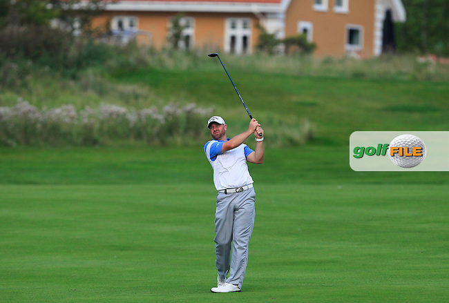 Craig Lee (SCO) on the 6th fairway during Round 1 of the Made in Denmark 2016 at the Himmerland Golf Resort, Farso, Denmark on Thursday 25th August 2016.<br /> Picture:  Thos Caffrey / www.golffile.ie<br /> <br /> All photos usage must carry mandatory copyright credit   (&copy; Golffile | Thos Caffrey)