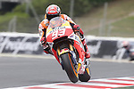 12.06.2015 Montmelo. Fim. GP Monster energy of Catalonia. Picture show Marc MArquez Repsol Honda Team in action during friday free practice