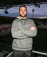 Monday 2nd December 2019 | Ulster Rugby Match Briefing<br /> <br /> Alan O'Connor at the Match Briefing held at Kingspan Stadium, Belfast ahead of the Heineken Champions Cup Round 3 clash against Harlequins at Kingspan Stadium, Belfast, on Saturday 6th December 2019. Photo by John Dickson / DICKSONDIGITAL