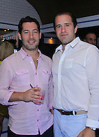Jeff Kamen and Ira Fox attend The Friends of Finn by the Shore party at Finale East on Aug. 2, 2014 (Photo by Taylor Donohue/Guest of a Guest)