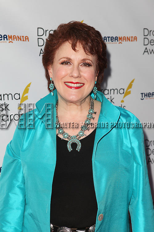 Judy Kaye pictured at the 57th Annual Drama Desk Awards held at the The Town Hall in New York City, NY on June 3, 2012. © Walter McBride