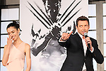 Tao Okamoto, Hugh Jackman, Aug 28, 2013 : Actor Hugh Jackman, actress Tao Okamoto attend 'The Wolverine' Japan Premiere at the Roppongi Hills on August 28, 2013 in Tokyo, Japan
