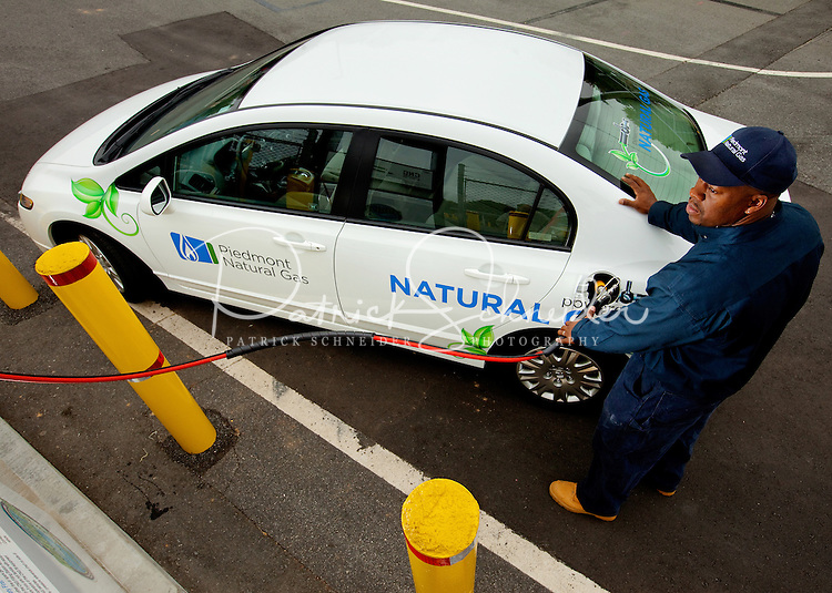 Piedmont Natural Gas' natural-gas powered vehicle | Patrick