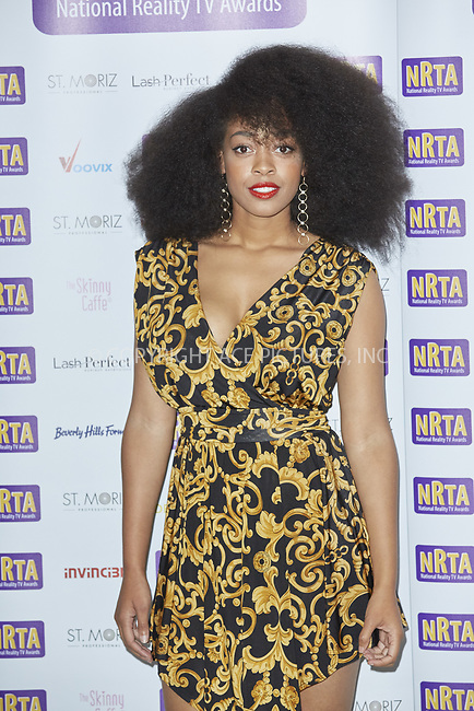 www.acepixs.com<br /> <br /> September 18 2017, London<br /> <br /> Imarni Evans arriving at the National Reality TV Awards 2017 at Porchster Hall on September 18 2017 in London<br /> <br /> By Line: Famous/ACE Pictures<br /> <br /> <br /> ACE Pictures Inc<br /> Tel: 6467670430<br /> Email: info@acepixs.com<br /> www.acepixs.com