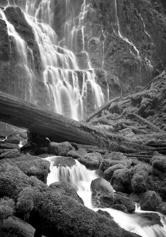 Close up of Proxy Falls. Three Sisters Wilderness, Oregon