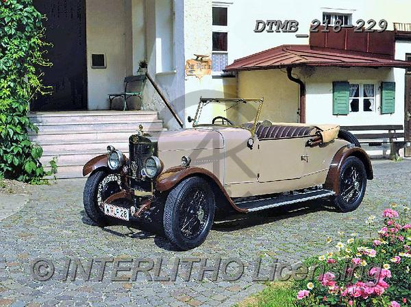 Gerhard, MASCULIN, MÄNNLICH, MASCULINO, antique cars, oldtimers, photos+++++,DTMB218-229,#m#, EVERYDAY