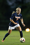 26 September 2013: Virginia's Makenzy Doniak. The Duke University Blue Devils hosted the University of Virginia Cavaliers at Koskinen Stadium in Durham, NC in a 2013 NCAA Division I Women's Soccer match. Virginia won the game 3-2.