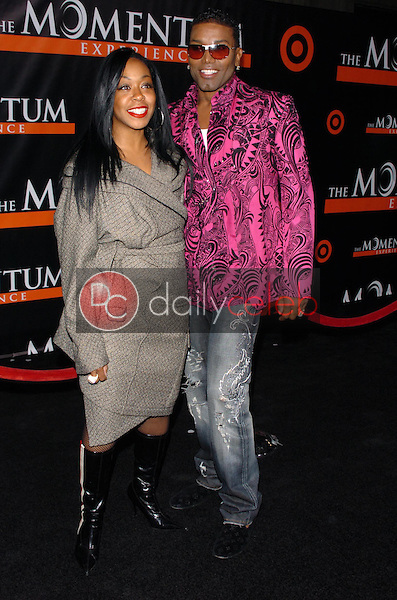 """Tichina Arnold and friend<br />at the premiere of """"The Seat Filler"""". El Capitan Theatre, Hollywood, CA. 02-22-06<br />Dave Edwards/DailyCeleb.com 818-249-4998"""