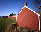 Red Farm Buildings.Appleton, Maine