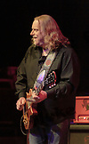 Warren Haynes with Gov't Mule at Fort Tuthill County Park, Flagstaff, AZ on July 10, 2015.