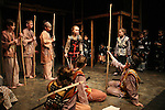 Isabella and Cast of the play 7 Samurai - December 7 - December 19, 2009 at the Phillipstown Depot Theatre, Garrison, New York. (Photo by Sue Coflin/Max Photos)