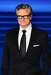 Colin Firth at the European premiere, of Mary Poppins Returns, Royal Albert hall. London.