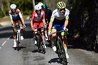 14th March 2020, Paris to Nice cycling tour, final day, stage 7;  DOUBEY Fabien (FRA) of CIRCUS - WANTY GOBERT in action during stage 7 of the 78th edition of the Paris - Nice cycling race, a stage of 166,5km with start in Nice and finish in Valdeblore La Colmiane on March 14, 2020 in Valdeblore La Colmiane, France