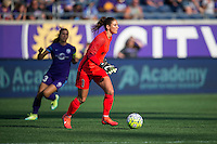 Orlando, Florida - Sunday, May 8, 2016: Seattle Reign FC goalkeeper Hope Solo (1) during a National Women's Soccer League match between Orlando Pride and Seattle Reign FC at Camping World Stadium.