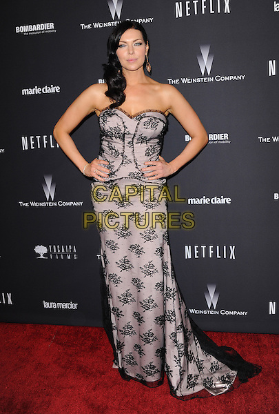 Laura Prepon attends THE WEINSTEIN COMPANY &amp; NETFLIX 2014 GOLDEN GLOBES AFTER-PARTY held at The Beverly Hilton Hotel in Beverly Hills, California on January 12,2014                                                                               <br /> CAP/DVS<br /> &copy;DVS/Capital Pictures