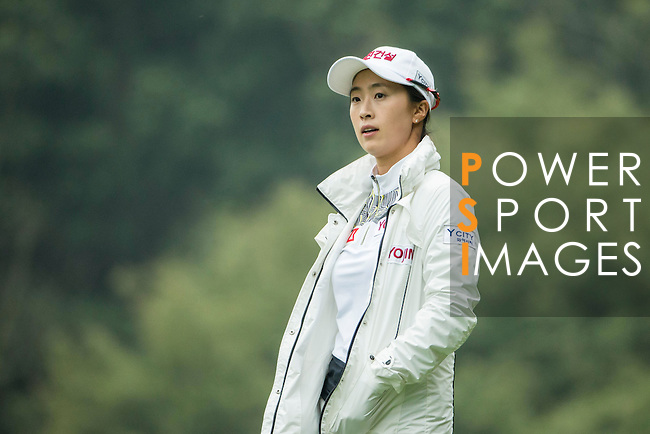 Bo Kyung Kim of South Korea at the 14th hole during Round 3 of the World Ladies Championship 2016 on 12 March 2016 at Mission Hills Olazabal Golf Course in Dongguan, China. Photo by Victor Fraile / Power Sport Images