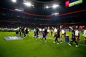 September 12th 2017, Munich, Germany, Champions League football, The teams take to the field