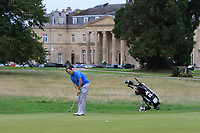 Jamie Cleary (SCO) on the 18th during Round 1 of the Bridgestone Challenge 2017 at the Luton Hoo Hotel Golf &amp; Spa, Luton, Bedfordshire, England. 07/09/2017<br /> Picture: Golffile | Thos Caffrey<br /> <br /> <br /> All photo usage must carry mandatory copyright credit     (&copy; Golffile | Thos Caffrey)