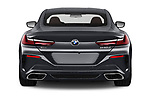 Straight rear view of a 2019 BMW 8 Series M Sport 2 Door Coupe stock images