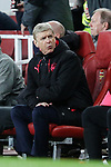 Manager of Arsenal Arsene Wenger during the UEFA Europa League Quarter-Final 1st leg match at the Emirates Stadium, London. Picture date 5th April 2018. Picture credit should read: Charlie Forgham-Bailey/Sportimage