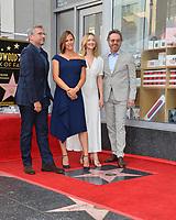 LOS ANGELES, CA. August 20, 2018: Steve Carell, Jennifer Garner, Judy Greer & Bryan Cranston at the Hollywood Walk of Fame Star Ceremony honoring actress Jennifer Garner.