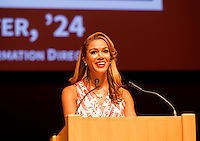 STANFORD, CA.,—September 16, 2016—The 2016 Stanford Athletics Hall of Fame Induction Ceremony at Bing Concert Hall on the Stanford University campus.