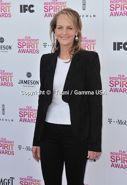 Helen Hunt _144  arriving at the 28th annual Film Independent Spirit Awards in Santa Monica.