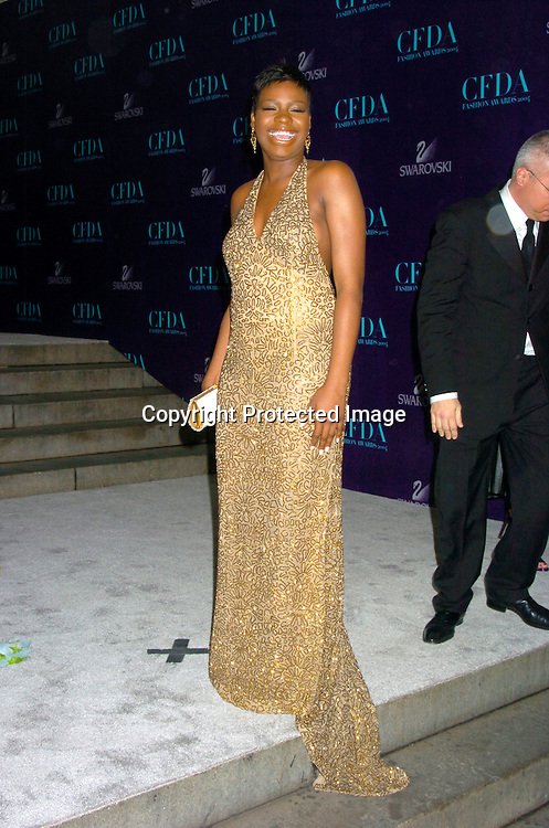 Fantasia ..at the  2004 CFDA Fashion Awards on June 7, 2004 at ..The New York Public Library.                                           Photo by Robin Platzer, Twin Images