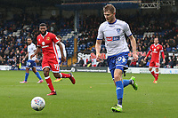 Bury's Michael Smith in action<br /> <br /> Photographer Juel Miah/CameraSport<br /> <br /> The EFL Sky Bet League One - Bury v Milton Keynes Dons - Saturday 30th September 2017 - Gigg Lane - Bury<br /> <br /> World Copyright &copy; 2017 CameraSport. All rights reserved. 43 Linden Ave. Countesthorpe. Leicester. England. LE8 5PG - Tel: +44 (0) 116 277 4147 - admin@camerasport.com - www.camerasport.com