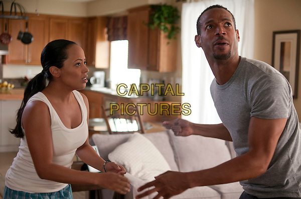 Essence Atkins &amp; Marlon Wayans<br /> in A Haunted House (2013) <br /> *Filmstill - Editorial Use Only*<br /> CAP/NFS<br /> Supplied by Capital Pictures