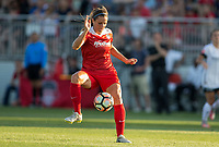 Boyds, MD. - Saturday, June 24 2017:  Shelina Zadorsky during a regular season National Women's Soccer League (NWSL) match between the Washington Spirit and the Portland Thorns FC at Maureen Hendricks Field, Maryland SoccerPlex.<br />  The Washington Spirit defeated the Portland Thorns FC 1-0.