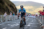 Marc Soler (ESP) Movistar Team climbs the Col de Peyresourde in front during Stage 8 of Tour de France 2020, running 141km from Cazeres-sur-Garonne to Loudenvielle, France. 5th September 2020. <br /> Picture: Colin Flockton | Cyclefile<br /> All photos usage must carry mandatory copyright credit (© Cyclefile | Colin Flockton)